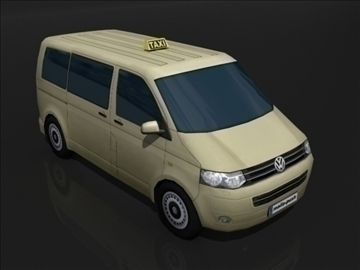 vw van 3d model max obj 107834