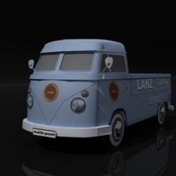 VW Bulli ( 39.71KB jpg by DropAssets )