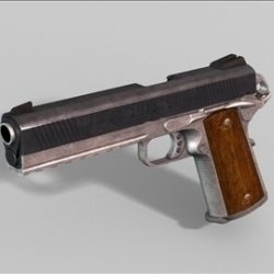Colt 1911 next gen weapon 3d model ( 46.09KB jpg by weapons3d )