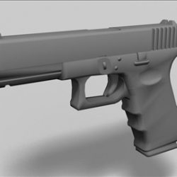 Glock 17  next generation weapon 3d model ( 30.88KB jpg by weapons3d )