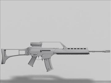 hk g36 nākamās paaudzes ierocis 3d modelis 3ds max obj 88199