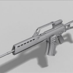 HK G36  next generation weapon 3d model ( 32.57KB jpg by weapons3d )