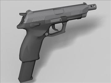 k100 automātiskās nākamās paaudzes ierocis 3d modelis 3ds max obj 88202