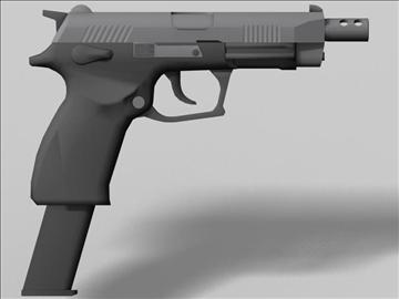 k100 automātiskās nākamās paaudzes ierocis 3d modelis 3ds max obj 88203