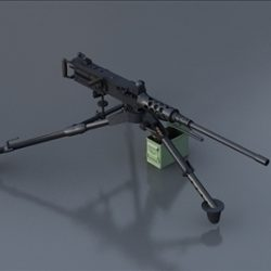 M2hb Machine Gun ( 46.37KB jpg by S.E )