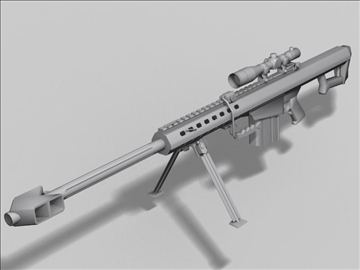 m82 a1 next gen weapon 3d model 3ds max obj 88209