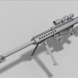 M82 A1 next gen weapon 3d model ( 32.42KB jpg by weapons3d )