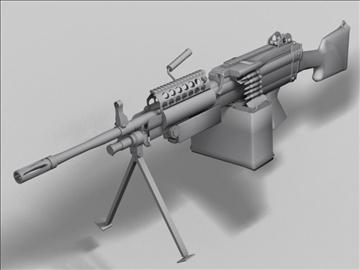 mk48 next generation weapon 3d model 3ds max obj 88214