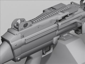 mk48 next generation weapon 3d model 3ds max obj 88217