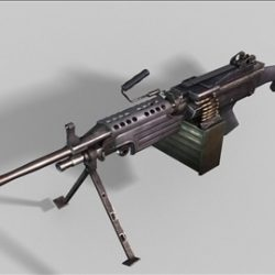 MK48  next generation weapon 3d model ( 48.02KB jpg by weapons3d )