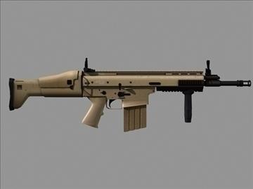 scar h 3d model max 102787
