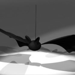Bat Ornament ( 36.16KB jpg by epicsoftware )