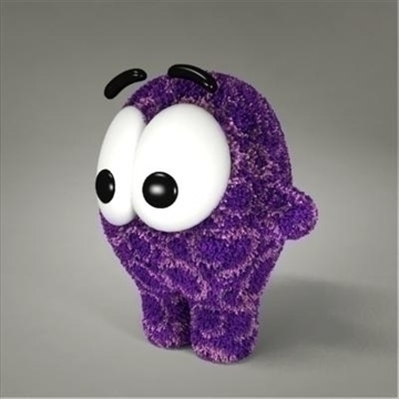 creature toy 02 3d model max 107183