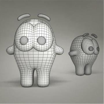 creature toy 02 3d model max 107187