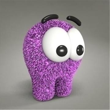 creature toy 3d model max 107085