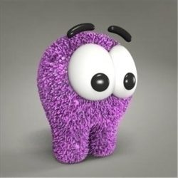 creature toy ( 64.39KB jpg by 3DGL )