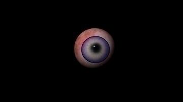 flaming eye 3d model ma mb 106572