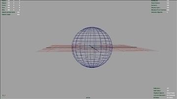 flaming eye 3d model ma mb 106573