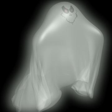 ghost rigged 3d model 3ds max fbx lwo obj 108313