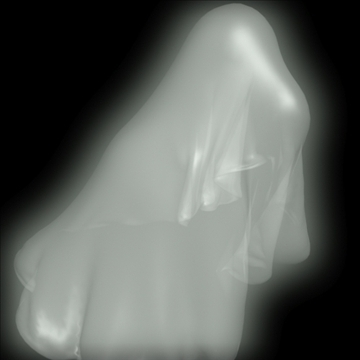 ghost rigged 3d model 3ds max fbx lwo obj 108314