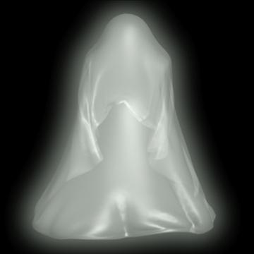 ghost rigged 3d model 3ds max fbx lwo obj 108315
