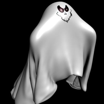ghost rigged 3d model 3ds max fbx lwo obj 108316