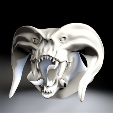 monster head.zip 3d modelis 3ds dxf fbx c4d x obj 87972
