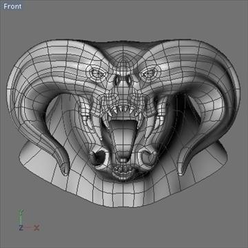 monster head.zip 3d modelis 3ds dxf fbx c4d x obj 87973