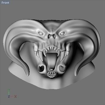monster head.zip 3d modelis 3ds dxf fbx c4d x obj 87974