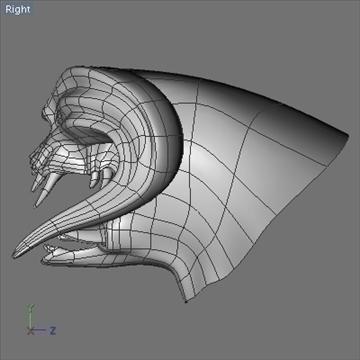 monster head.zip 3d modelis 3ds dxf fbx c4d x obj 87975