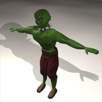 the ogre 3d model 3ds max 82641