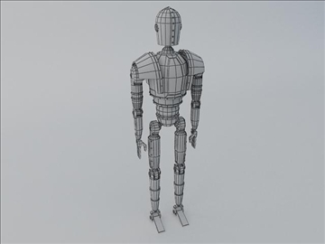 wood man 3d model 3ds max fbx obj 107764