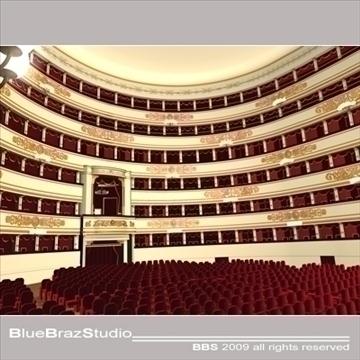 scala theatre 3d model 3ds dxf c4d obj 101480