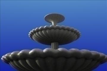 water fountain 3d model blend 111165