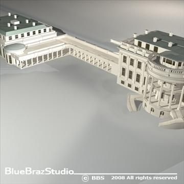 цагаан байшин 3d загвар 3ds dxf c4d obj 91992