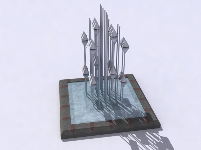 contemporary-fountain-c 3d model 3ds max obj 138201