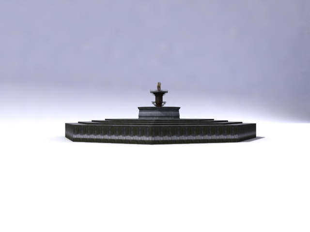 fountain-a 3d model 3ds max obj 138165