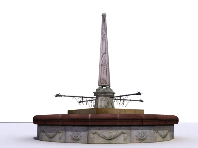 fountain-e 3d model 3ds max obj 138188