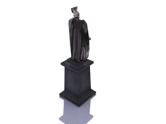 kaiser wilhelm minnismerki 3d líkan 3ds max obj 138217