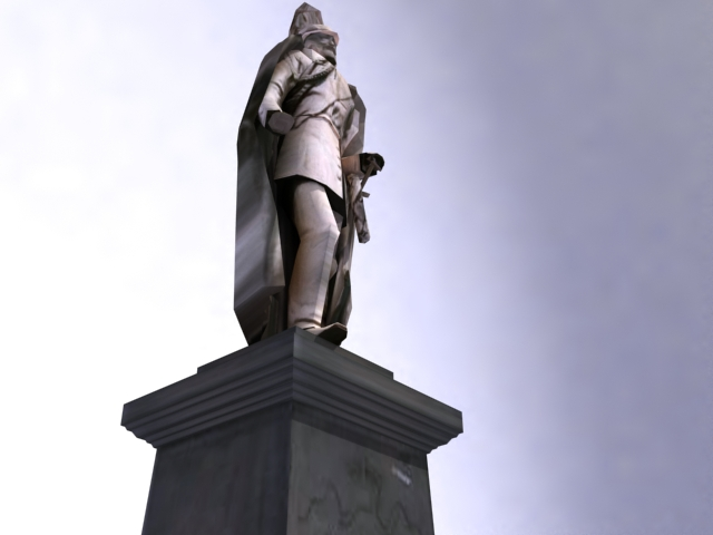 kaiser wilhelm minnismerki 3d líkan 3ds max obj 138218