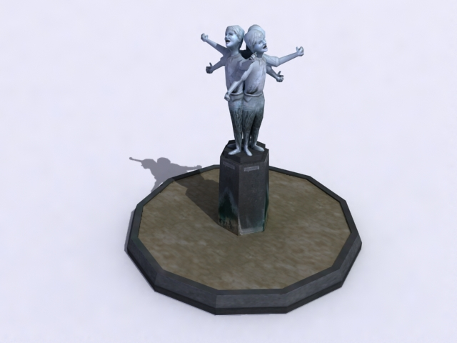 monument-sculptured-a 3d model 3ds max obj 138207