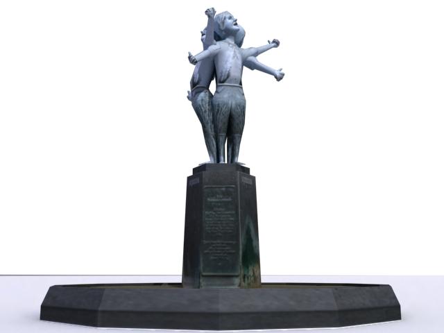monument-sculptured-a 3d model 3ds max obj 138208