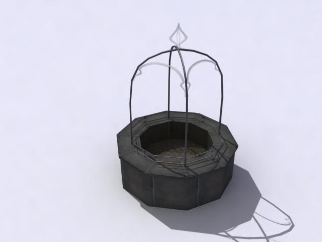 spomenik dobro 3d model 3ds max obj 138211