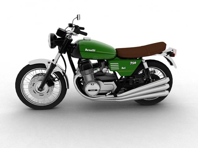 750 sei 1976 3d model 3ds max fbx c4d obj 154595