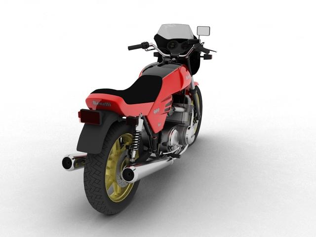 benelli 900 sei 1984 3d model 3ds max fbx c4d obj 154571