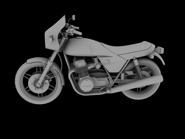 benelli 900 sei 1984 3d model 3ds max fbx c4d obj 154580