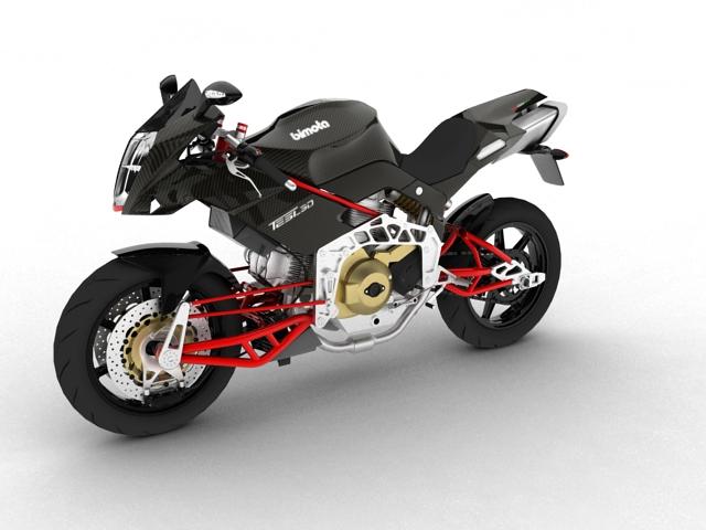 bimota tesi 3d 2012 3d model 3ds max fbx c4d obj 154428