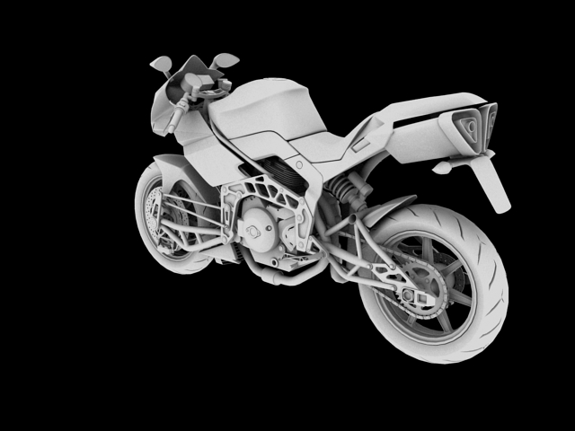 bimota tesi 3d 2012 3d model 3ds max fbx c4d obj 154434