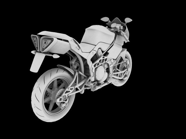 bimota tesi 3d 2012 3d model 3ds max fbx c4d obj 154436