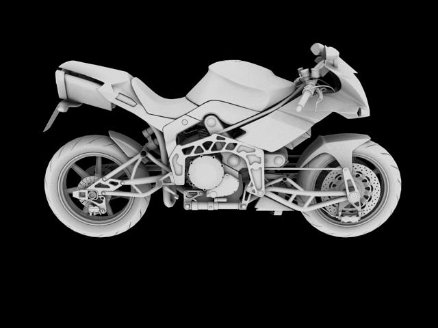 bimota tesi 3d 2012 3d model 3ds max fbx c4d obj 154437